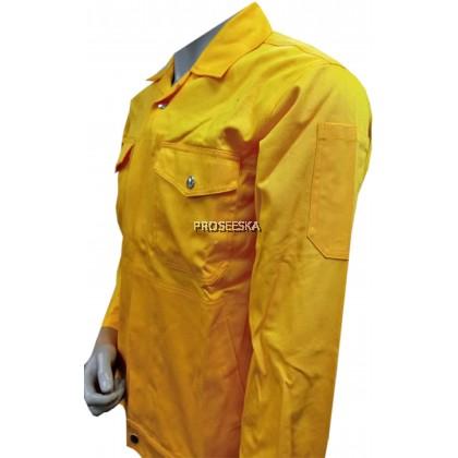 Cotton Jacket Yellow